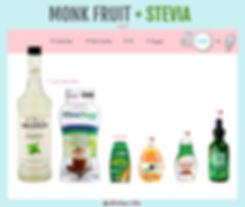 Monk Fruit with Stevia Liquid