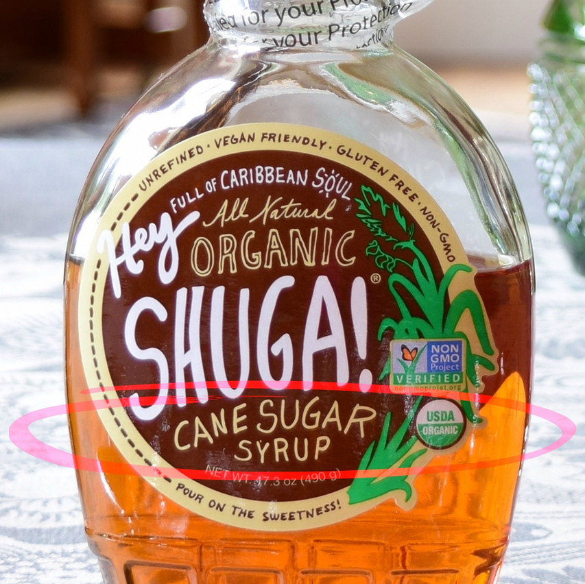 What is organic cane syrup | Organic cane syrup is made by dissolving organic raw cane sugar in water, and then heating it up, or treating it with an acid or the enzyme invertase to produce a clear, golden color syrup. Also referred to as golden syrup, invert syrup, inverted syrup, or simply 'invert'. It is a medium invert syrup that contains approx 80 percent sugars, being 30-40 sucrose, and 50 invert sugar (25 fructose, 25 glucose).