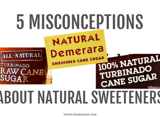 "5 Misconceptions About ""Natural"" Sweeteners You Wish You Knew Before"