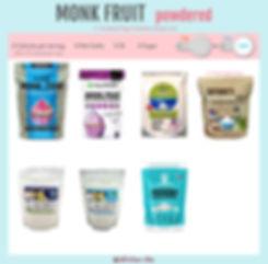Powdered Monk Fruit