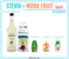 Stevia Monk Fruit Liquid