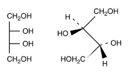 Erythritol Molecule