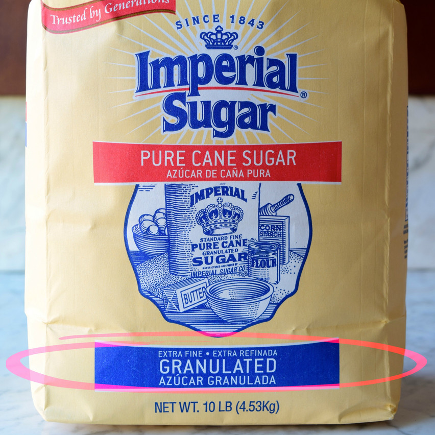 Extra Fine Granulated vs Granulated Sugar | Extra fine granulated sugar is a refined sugar produced from cane or beet with 99.95 percent sucrose (water being the main remainder). For most sugar manufacturers, it is a white sugar with crystal size ranging from about 0.3 to 0.35mm.