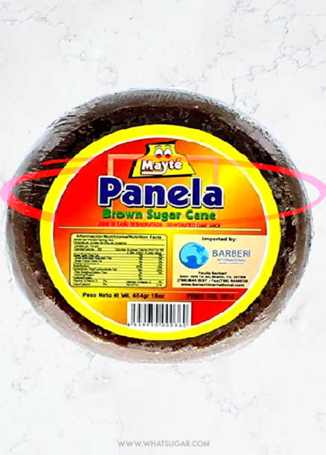 What is Panela Sugar | Panela is a traditional brown sugar produced directly from the cane juice in sugars mills in Colombia, Ecuador, Guatemala, Mexico, Panama, and Venezuela. Panela is sold in block and granulated form.