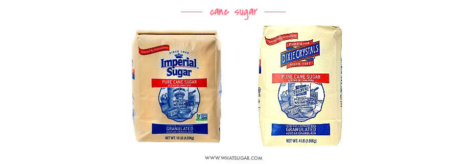 Top Brands of Sugar Imperial and Dixie Crystals