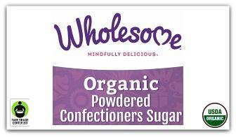 What is organic powdered sugar?