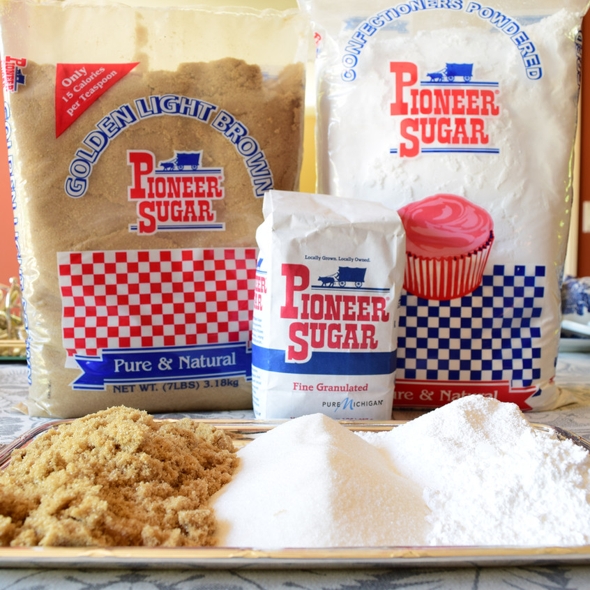 Pioneer is a brand of refined sugar from beets