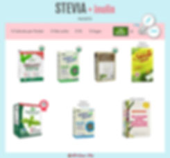 Stevia with Inulin Packets