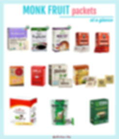 Monk Fruit Packets