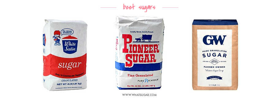 Beet Sugar Brand Names