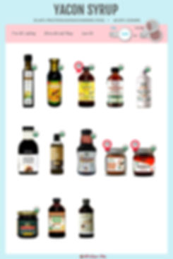 Yacon Syrup | Fructooligosaccharide | FO