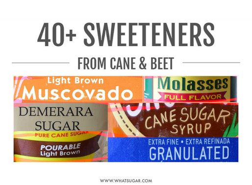"By Law, ""Sugar"" Comprises 40+ Sweeteners from Just Two Plants"