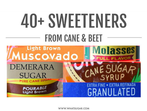 """By Law, """"Sugar"""" Comprises 40+ Sweeteners from Just Two Plants"""
