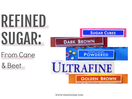 Here's a Quick Way to Learn About 20+ of the Favorite Refined Sugars