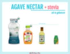 Stevia with Agave Nectar