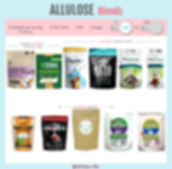 Allulose Blends | Allulose with Monk Fruit | Allulose with Stevia