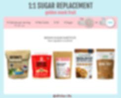 Zero Calorie Brown Sugar Substitute