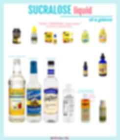 Sucralose Liquid
