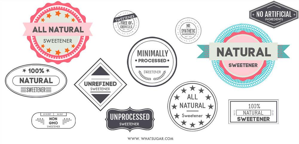 Natural sweetener definition
