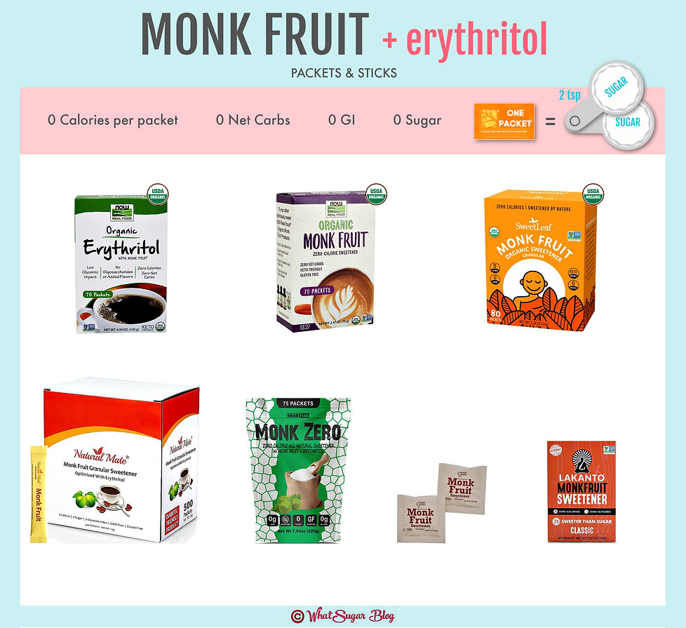 Does monk fruit come in packets? | Almos