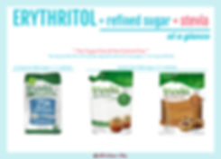 Erythritol Blend with Sugar and Stevia