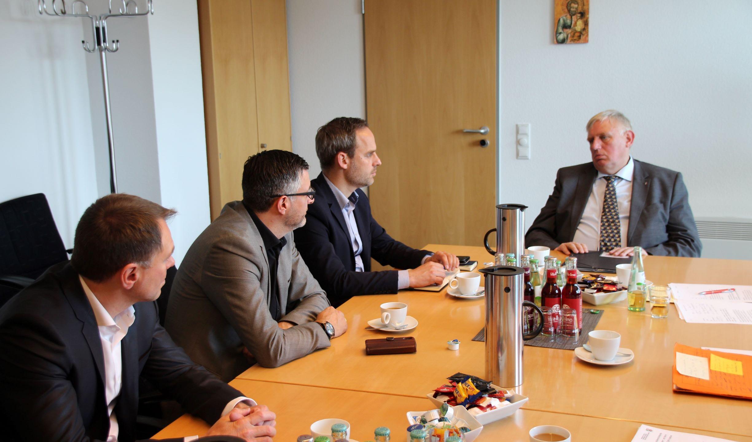 Austausch NRW-Gesundheitsminister