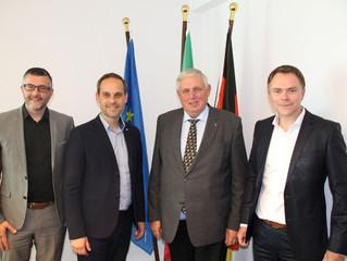 """Austausch mit NRW-Gesundheitsminister: """"Euregio-Schein für grenzüberschreitende Gesundheitsversorgun"""