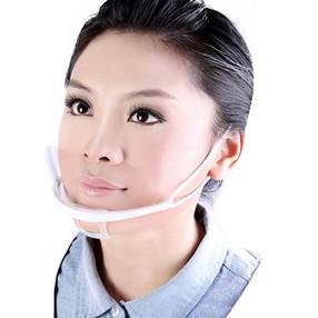 Plastic Clear Mask