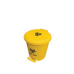 Biohazard Pedal Bin 10L