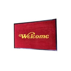 Dust Control Laundry Welcome Mat