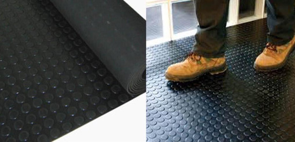 Rubber Studed Mat