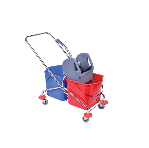 TMP25/25 Double Mop Bucket (Metal Frame)