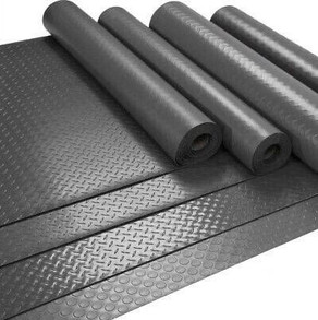 Rubber Checker Mat