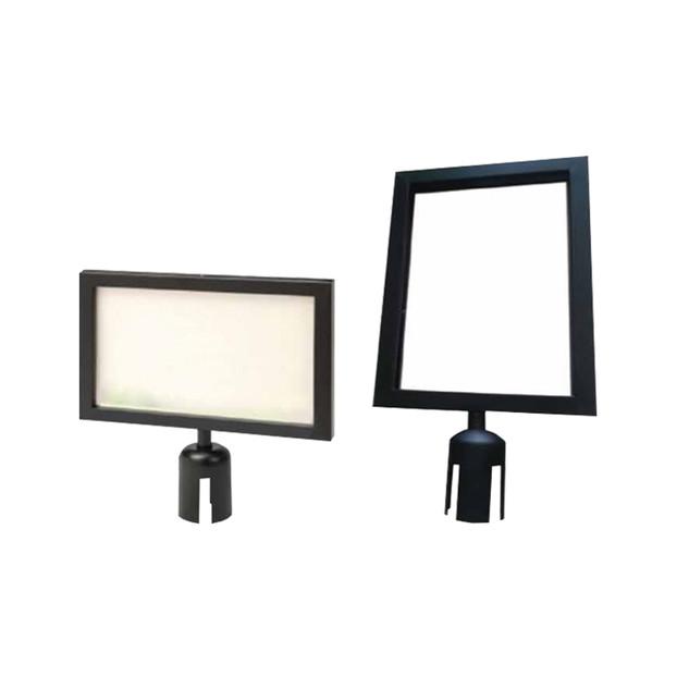 Slip in Frame A3 or A4- Black Chrome Frame