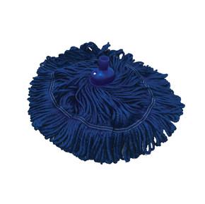 Blue Colour Microfibre Circular Mop 300gm