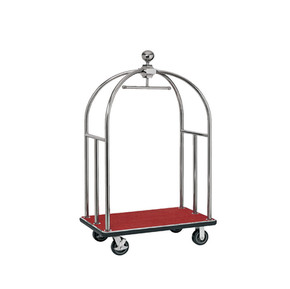 Stainless Steel Luggage Birdcage Trolley