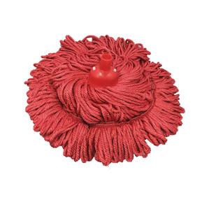 Red Colour Microfibre Circular Mop 300gm