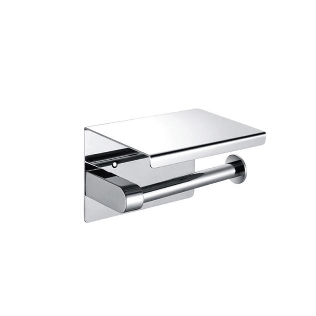 TRH-101>   Stainless Steel Toilet Roll Dispenser (Flat Top)
