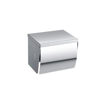 TRH-102>   Stainless Steel Toilet Roll Dispenser (Full Cover + Flat Top)