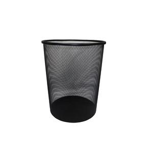 Metal Wire Paper Bin     >(Round)