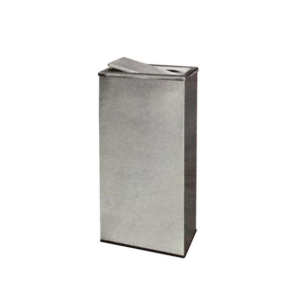 Stainless Steel Rectangular Flip Top Bin