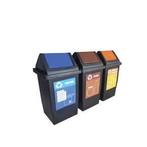 Flip Recycle Bin 3 in 1