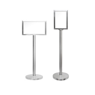 SBS-023      Stainless Steel A3 Display Stand