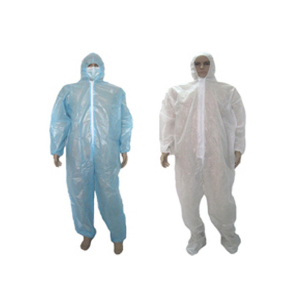 Non Woven PE Coated Coverall