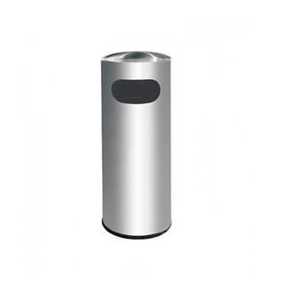 Stainless Steel Litter Bin c/w Dome Top.