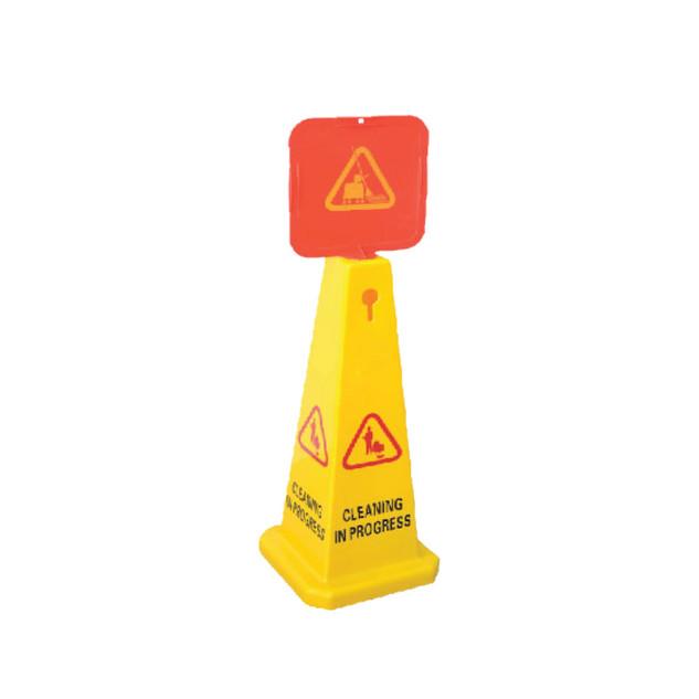 Yellow Cone Signage (Large)