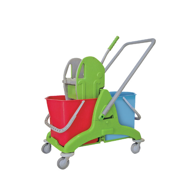 AZ1036 Double Mop Bucket (Plastic Frame)- Heavy Duty