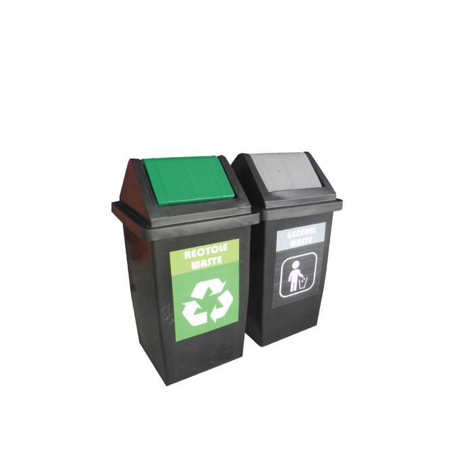 FLIP Recycle Bin 2 in 1
