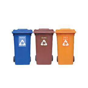Recycle Mobile Garbage Bin ( 3 in 1 ).