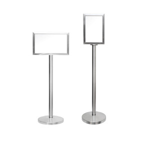 SBS-024     Stainless Steel A4 Display Stand.jpg
